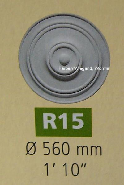 Rosette R 15;  Durchmesser 560 mm
