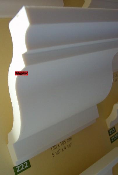 Z 22  lineare NMC Arstyl®  Stuckleiste, 2  m  x 126  mm x 106 mm