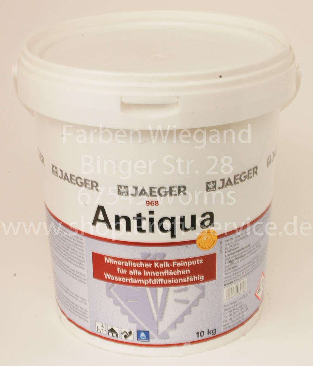 antiqua kalkputz für innen und außen, 10 kg | dekorative techniken