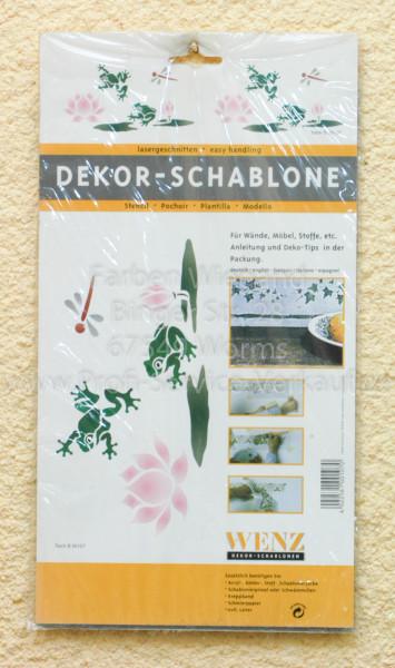 Schablone Motiv: Teich