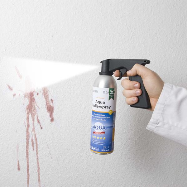 Sprühgriff, in Verwndung mit Aqua- Isilier- Spray