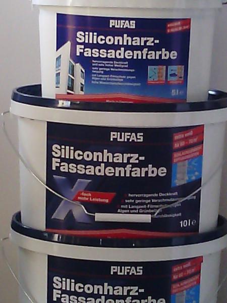 PUFAS Siliconharz-Fassadenfarbe weiß-1