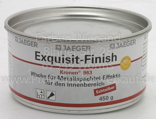 Exquisit Finish Echtsilber 450 g