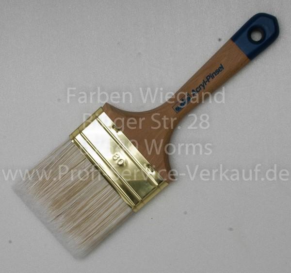 Flachpinsel Acryl Profi 80 mm