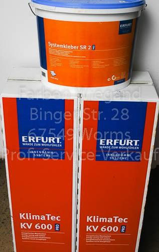 KlimaTec KV 600 PRO 30 m² + Systemkleber SR 2 PRO 18 kg + 1 T-Shirt-1