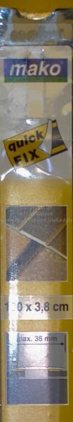 Alu-Übergangsprofil extra breit, bronze, selbstklebend-1