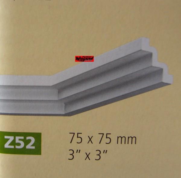Z52 lineare NMC Arstyl®  Stuckleistel, 200 x 7,5 x 7,5 cm