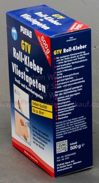 GTV Roll-Kleber für Vliestapeten, 500 g