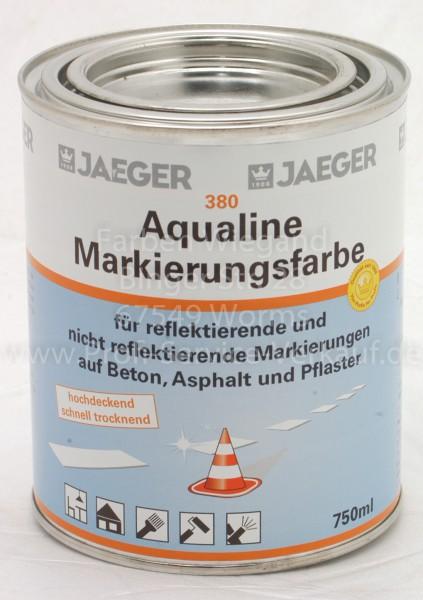 Aqualine Markierungsfarbe weiß 750 ml