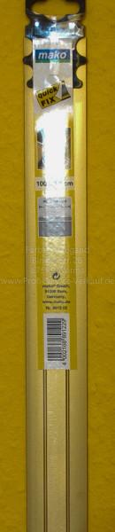Alu-Übergangsprofil extra breit, gold, selbstklebend, 100x3,8 cm