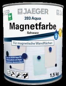 Magnetfarbe Aqua Jaeger, schwarz, 1,5 kg-1