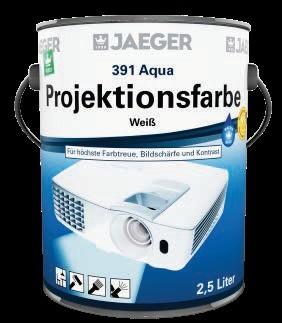 Aqua Projektionsfarbe 391 weiß tuffmatt 750 ml-1