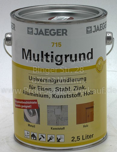Multigrund lh, rotbraun, 2.5 L