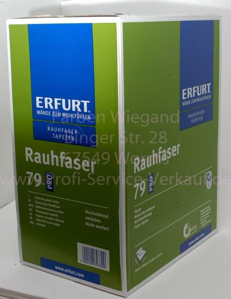 6 Rollen Erfurt PRO Rauhfaser Korn 79 Exklusiv  17,00 x 0,53 m