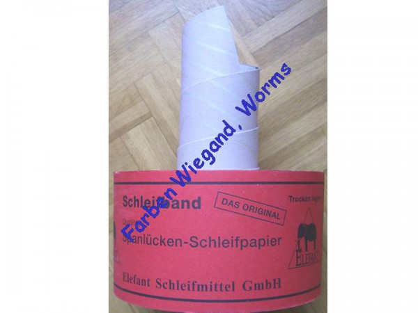 """Schleifpapier / Schleifband """"Das Original"""" Korn 040"""