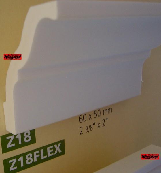 Z 18 FLEX  lineare NMC Arstyl®  Stuckleiste, 200 x 6 x 5 cm