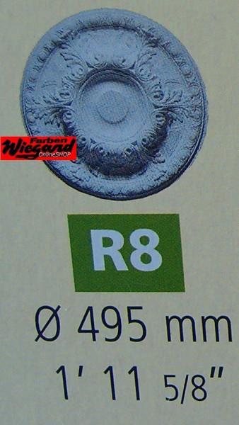 Rosette R 8;  Durchmesser 495 mm